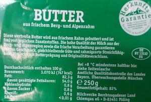 Butter_Zutaten